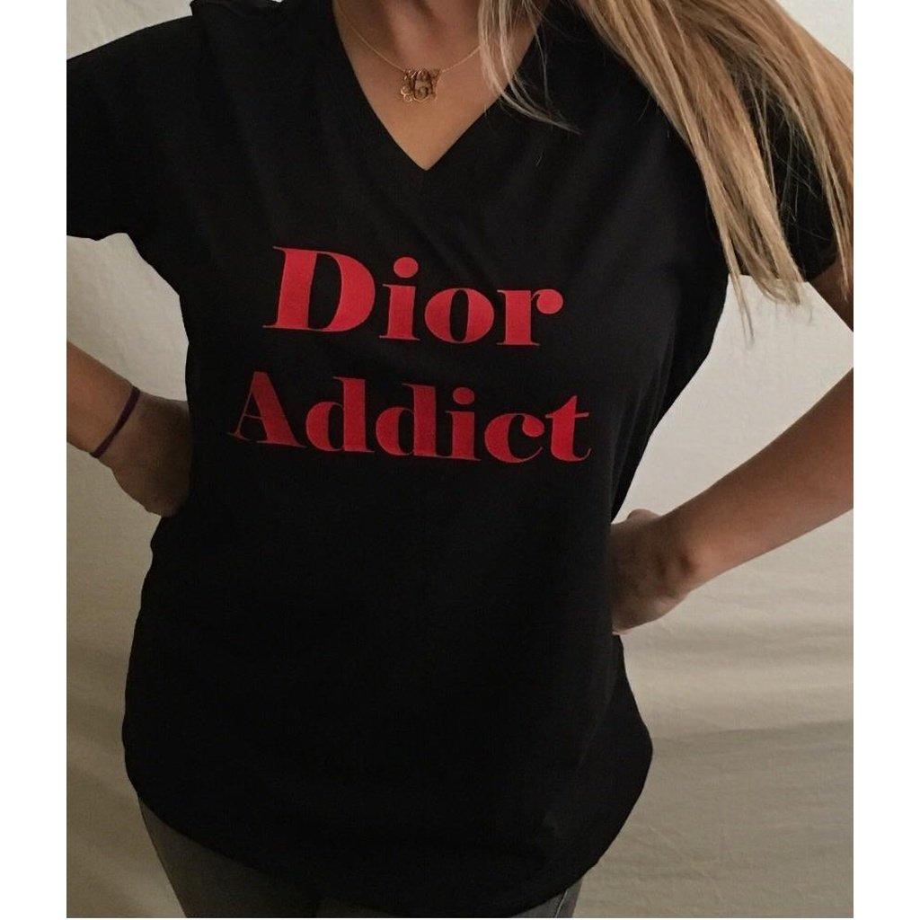 DIOR ADDICT T-shirt Style Fashion Hauts, chemises, T-shirts