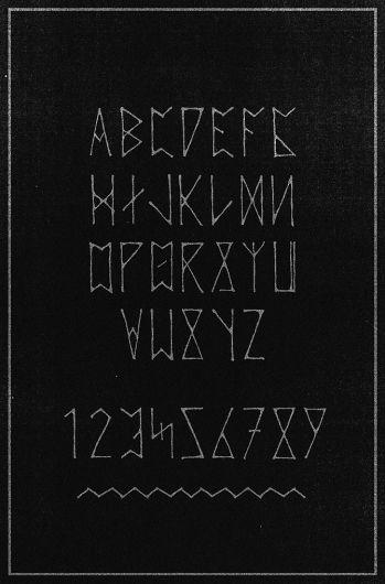 Saxon Stone Type  by Sam Chirnside