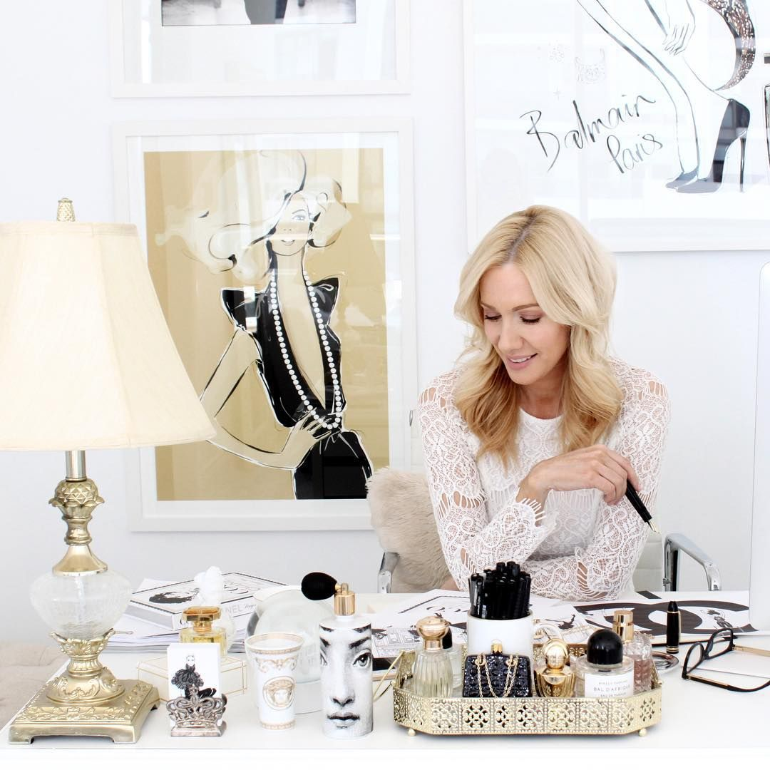 In my studio, working at my desk. This pic is in the latest @lofficielau - It was taken when I was at the final stages of finishing my latest book: COCO CHANEL