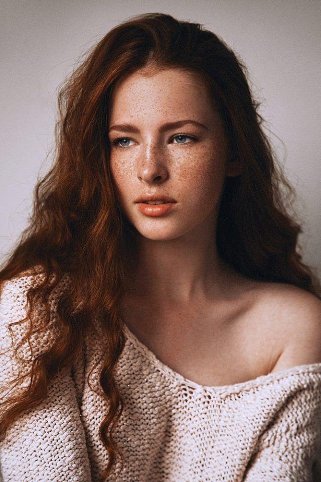 Katya model redhead are not