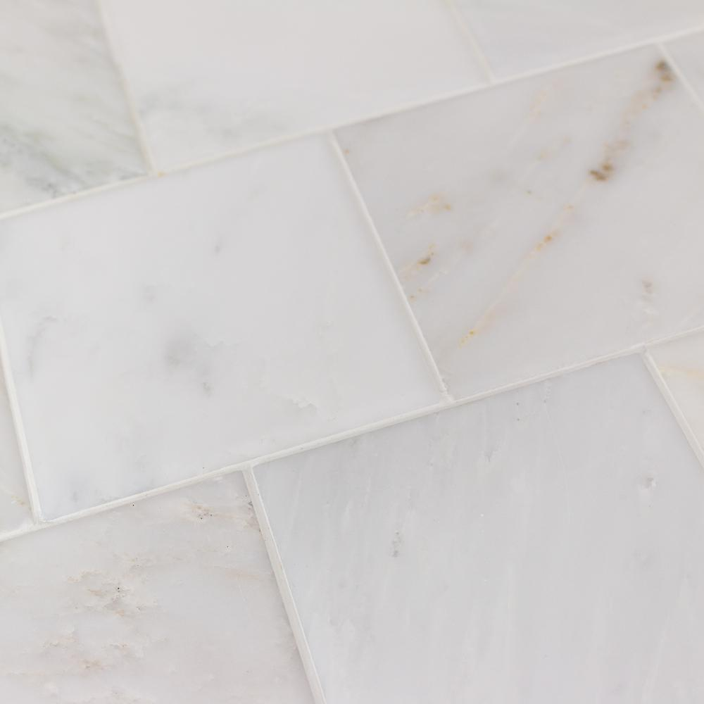 ivy hill tile brushed white carrara