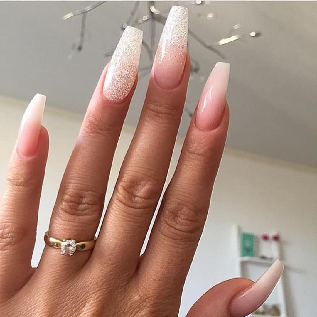 Фото ногтей длинных квадратной формы