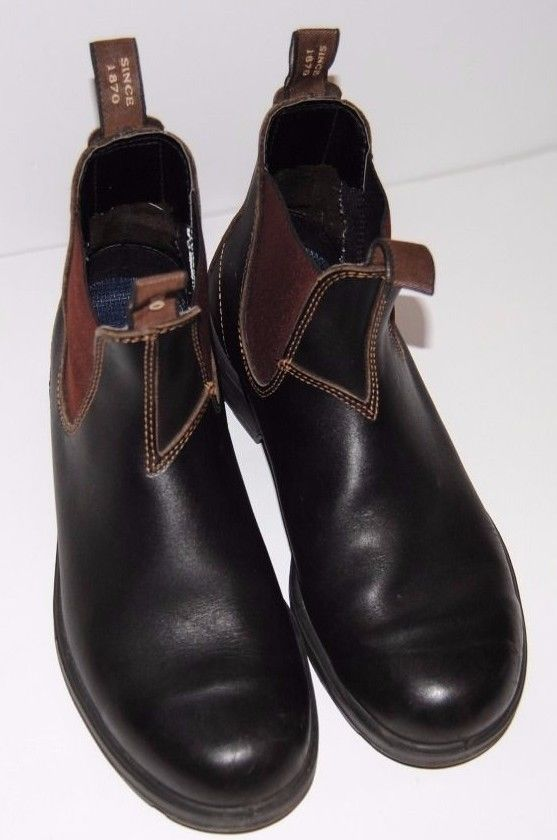 936adcfa7b82 BLUNDSTONE ORIGINAL 500 MENS PULL ON ANKLE BOOT BLACK SIZE 9.5 EXCELLENT   Blundstone  AnkleBoots