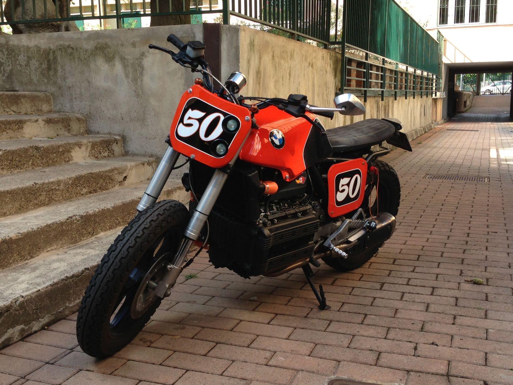 ESPRESSO MOTORCYCLE: ESPRESSO #13 BMW TRACKER