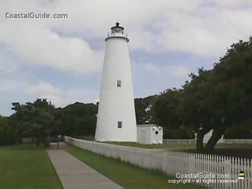 Ocracoke Lighthouse - Ocracoke Island - A small lighthouse, but it is so pretty!