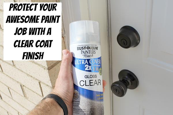 An amazingly easy way to refinish door hardware home - Home hardware exterior door handles ...