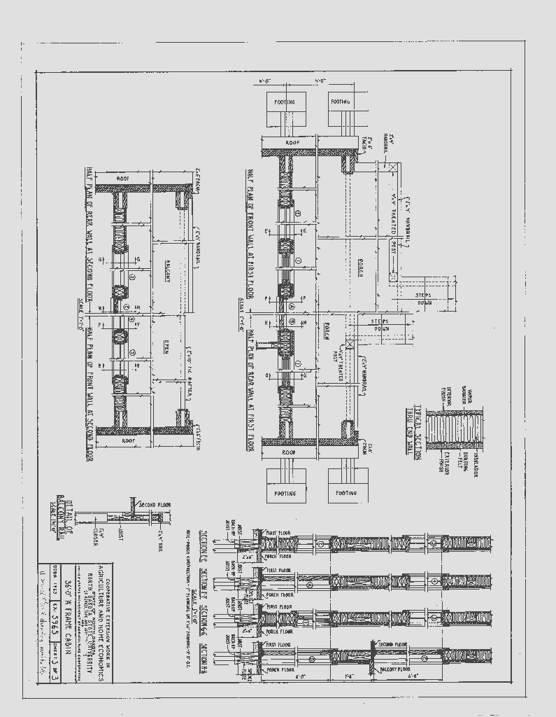 36 a frame house planspage3 sds plans rmh 3 pinterest free a frame cabin plans blueprints construction documents malvernweather Gallery