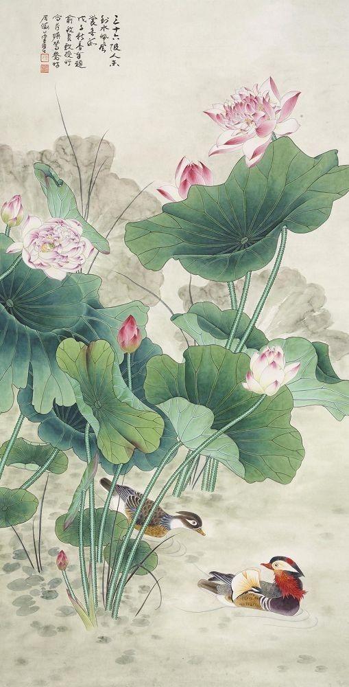蓮の絵 おしゃれまとめの人気アイデア Pinterest 恵美 蓮の絵 日本画 蓮の花