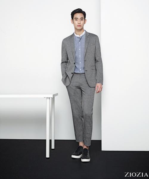 ZIOZIA Spring 2016 Ad Campaign With Kim Soo Hyun   Couch Kimchi