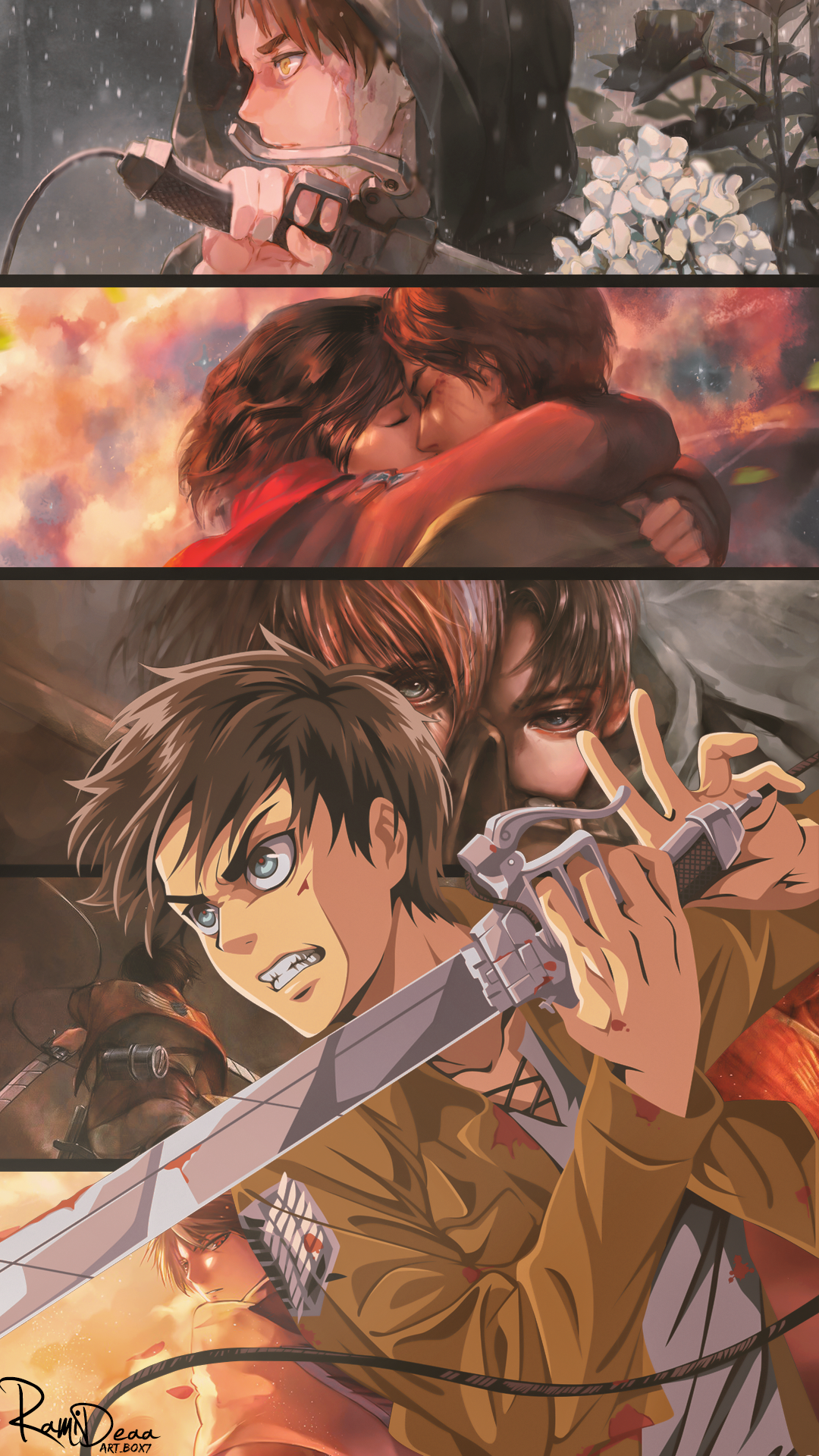 Eren Attack On Titan Dibujos Japoneses Shingeky Ataque De Los Titanes