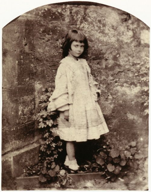 Lewis Carroll (Charles Lutwidge Dodgson) Alice Liddell Dressed in Her Best  Outfit Christ Church Studio d15b4fb8ea3