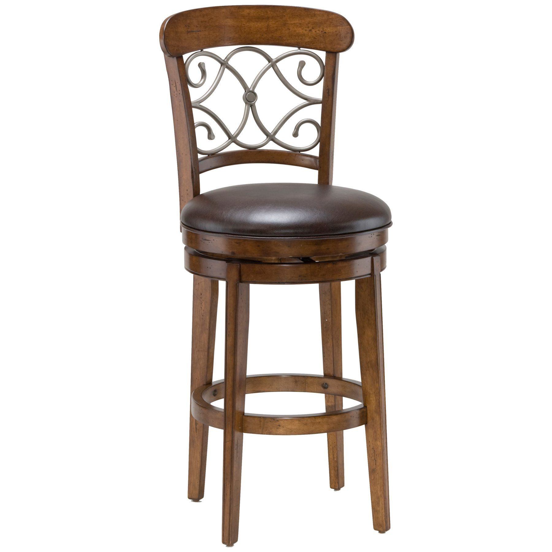 Miraculous Hillsdale Bergamo 30 In Swivel Bar Stool 4299 830S Caraccident5 Cool Chair Designs And Ideas Caraccident5Info