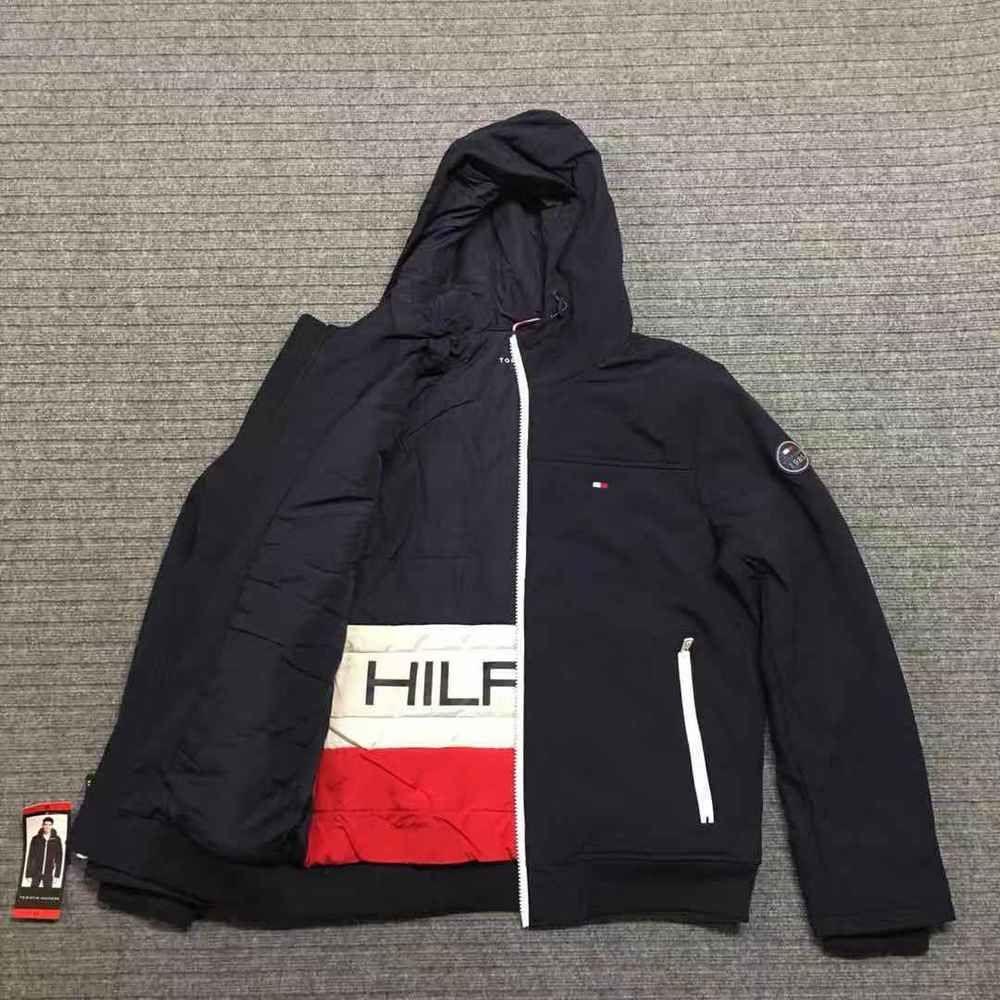 Tommy Hilfiger Men's Winter Jacket Navy Size SXLebay