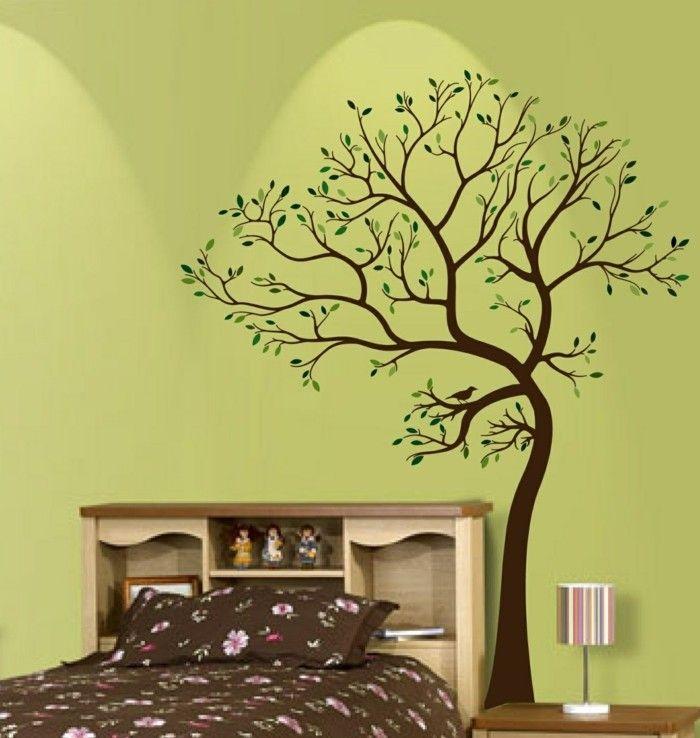 Wandtattoo baum schlafzimmer prinsenvanderaa - Wandtattoo ideen ...