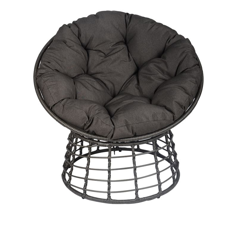 Find Mimosa Round Lounge Steel Chair With Cushion at Bunnings ...