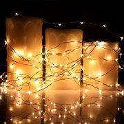 battery operated christmas lights kohree 6 strands fairy starry string lights copper wire light micro 30