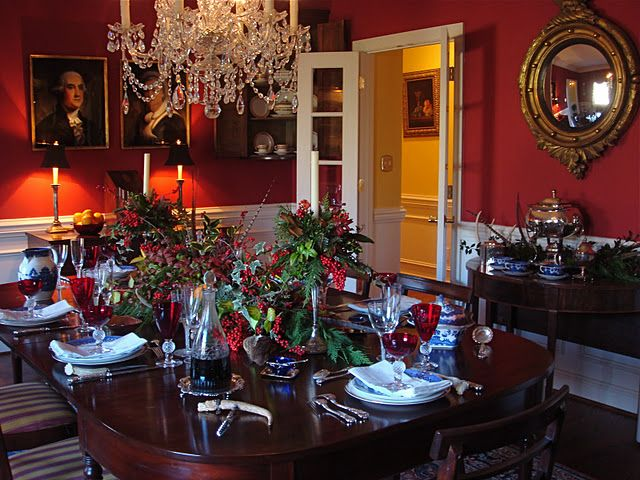 Tables And Chairs And China Oh My Christmas Dining Room Christmas Kitchen Decor Christmas Dining