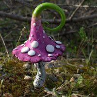 Champignon. | Idées pour un jardin de fée miniature | Pinterest ...