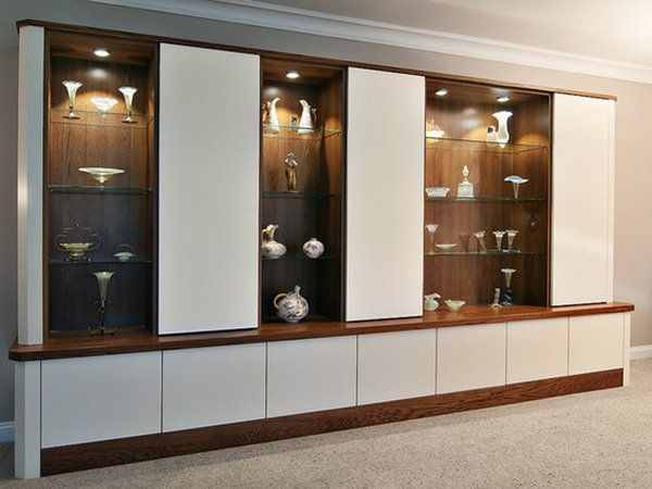 Beautiful Big Storage Cupboard With Luxury Design · Wooden CupboardModern Living Room  ...