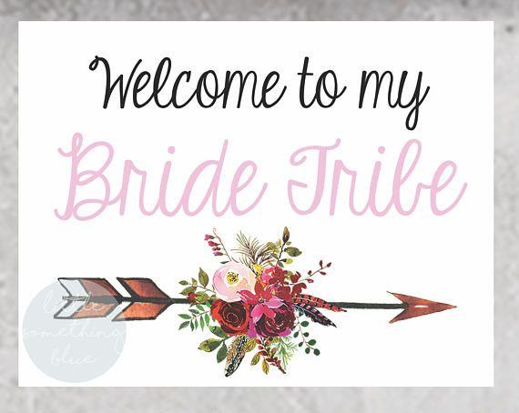 Bride Tribe Bridesmaid Proposal Card Template Bride Tribe