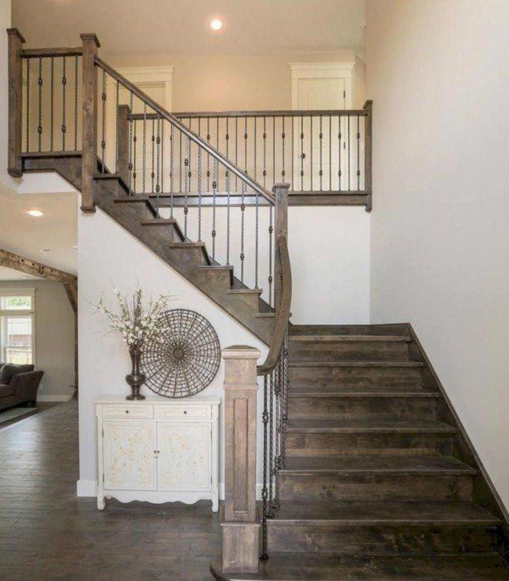 20 Excellent Traditional Staircases Design Ideas: 09 Extraordinary And Unique Rustic Stairs Ideas Result