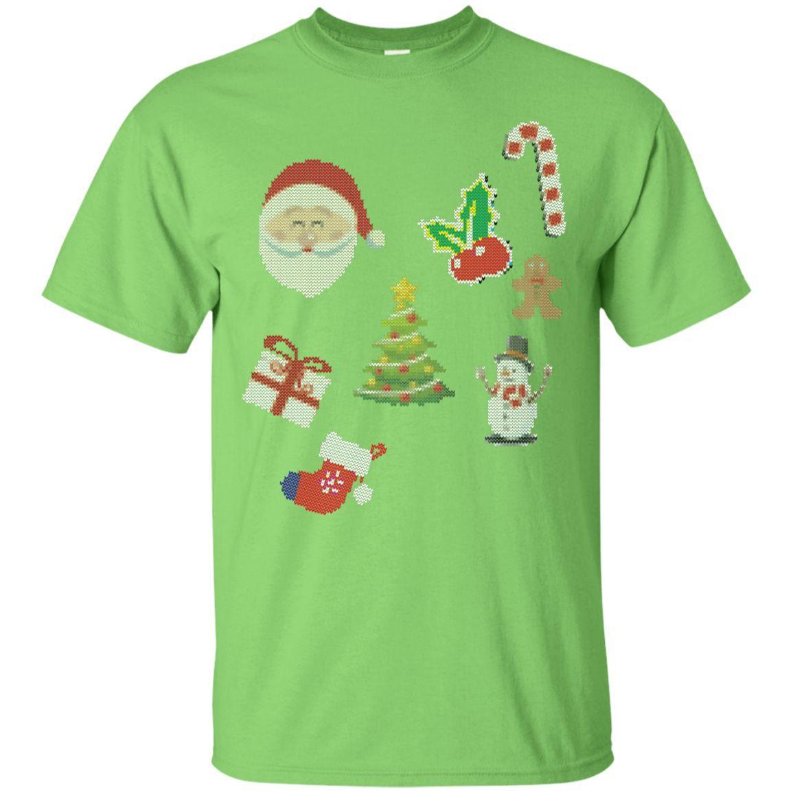 icon christmas, funny, ugly T-Shirt
