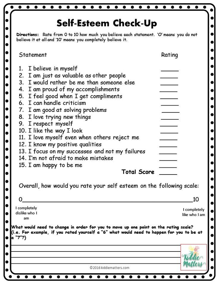 This small group counseling resource contains self esteem games – Self Worth Worksheets