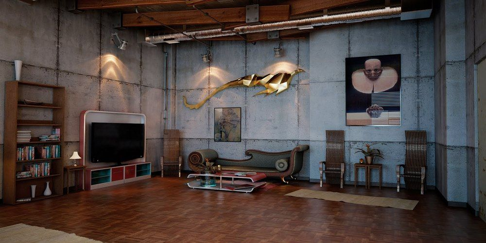 Industrial Home Design Awesome Of Home Design Industrial Loft - A loft with industrial design by russian designer maxim zhukov