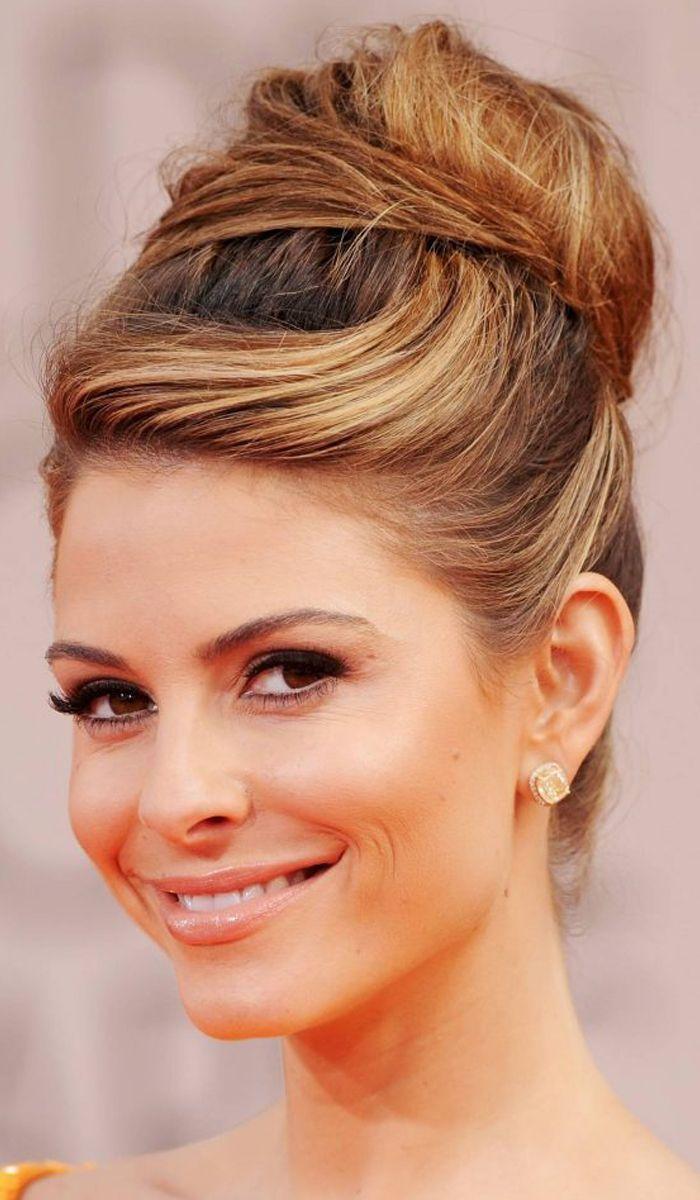 Bun hairstyles for long hair mediumhairshoulderlength medium hair