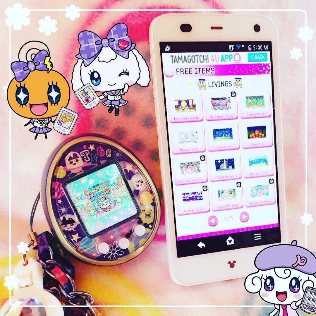 Magdalena On Instagram Finally Got My Disneymobileondocomo So I Can Transfer Stuff To My Tamagotchi4u I Was Reluctant T Kawaii Toys Kawaii Virtual Pet
