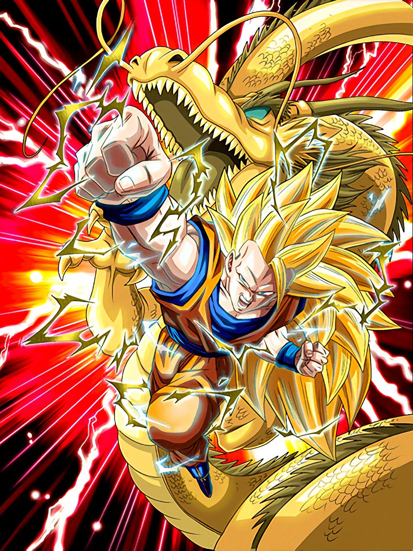 Mystery Super Technique Super Saiyan 3 Goku Dragon Fiiist