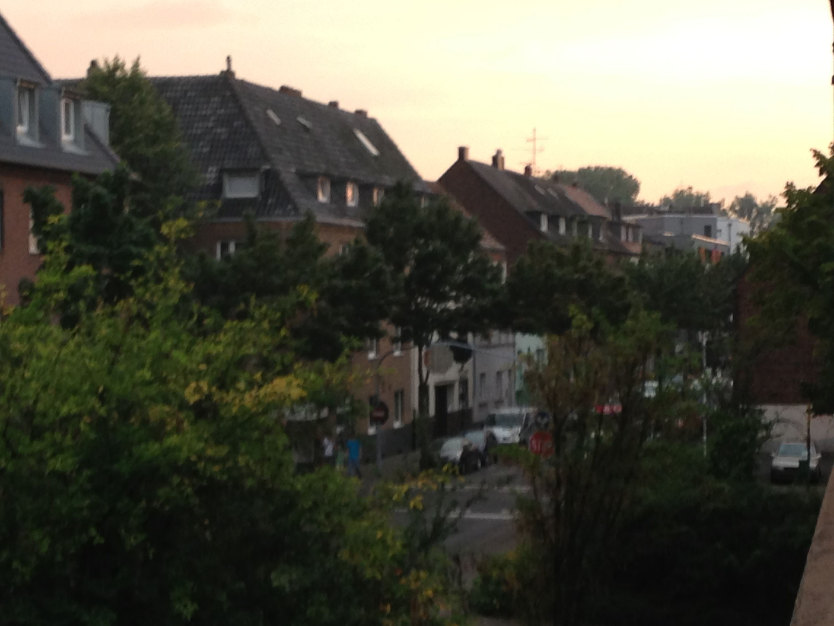 Duesseldorf Germany - Apartment View