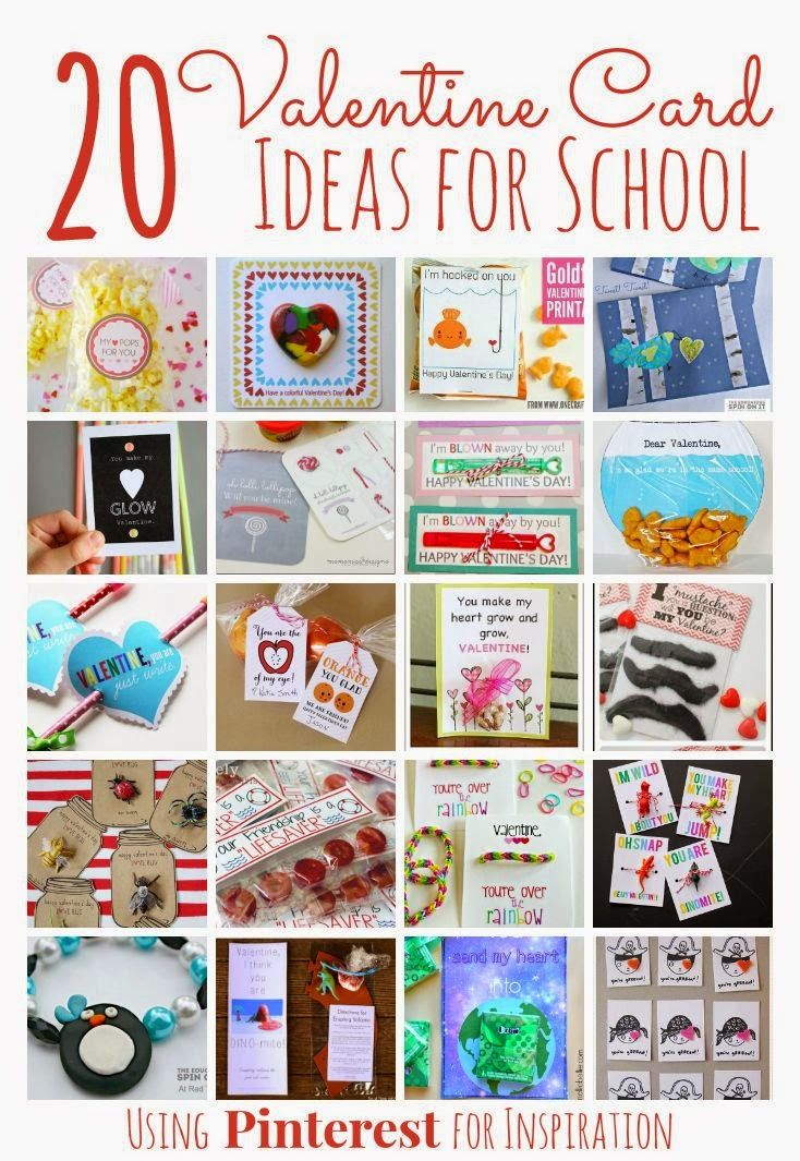 20 Adorable Homemade Valentines for Classmates  Card ideas Spin