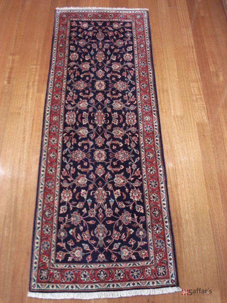 Persian Kashan   Dimensions:  224cm x 79cm SKU: 4912