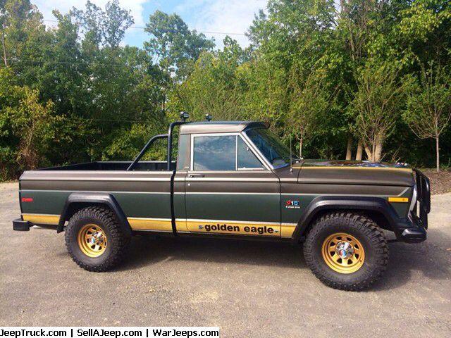 j 10 golden eagle old iron pinterest golden eagle jeeps and jeep truck. Black Bedroom Furniture Sets. Home Design Ideas