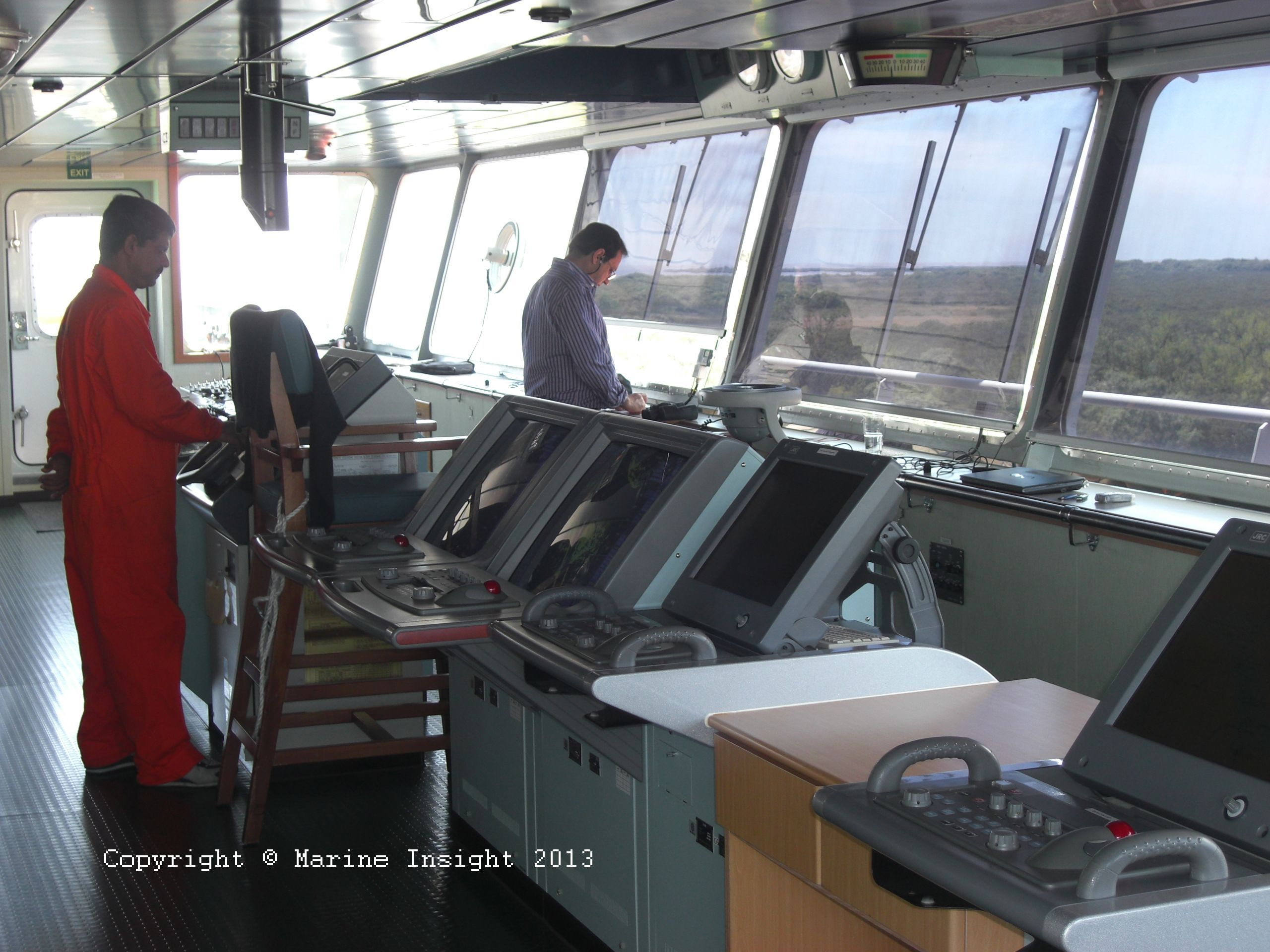 10 Things Deck Officer Must Know While Operating Main