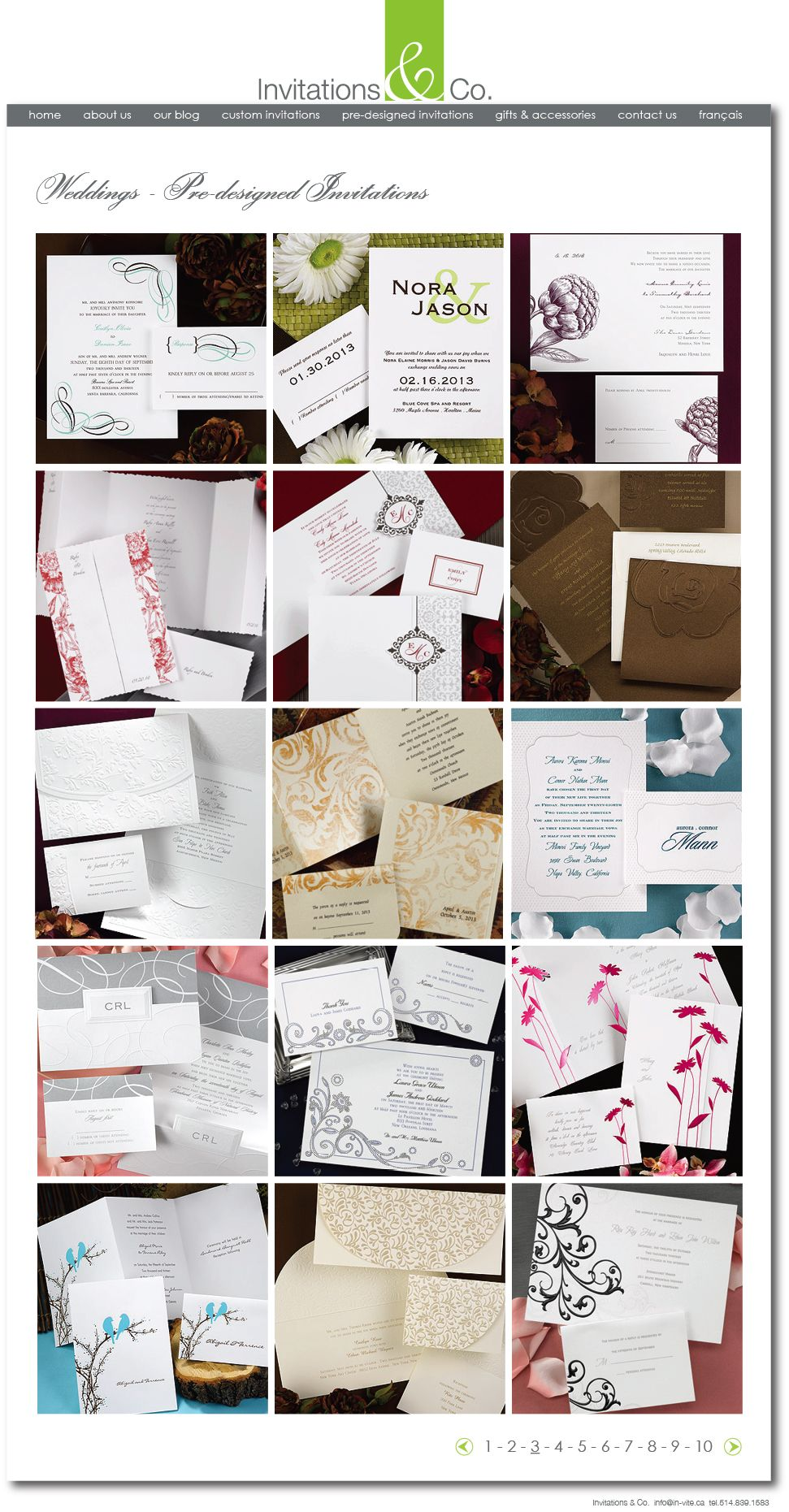 Invitations & Co. Wedding Invitations