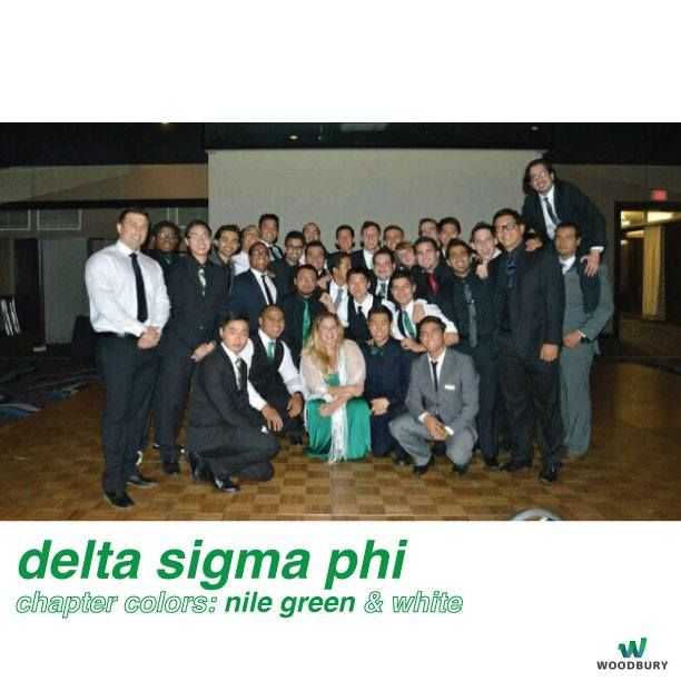 Fun fact: The colors of the Deltas include Nile Green and White! #begreek #deltasigmaphi #woodburyuniversity