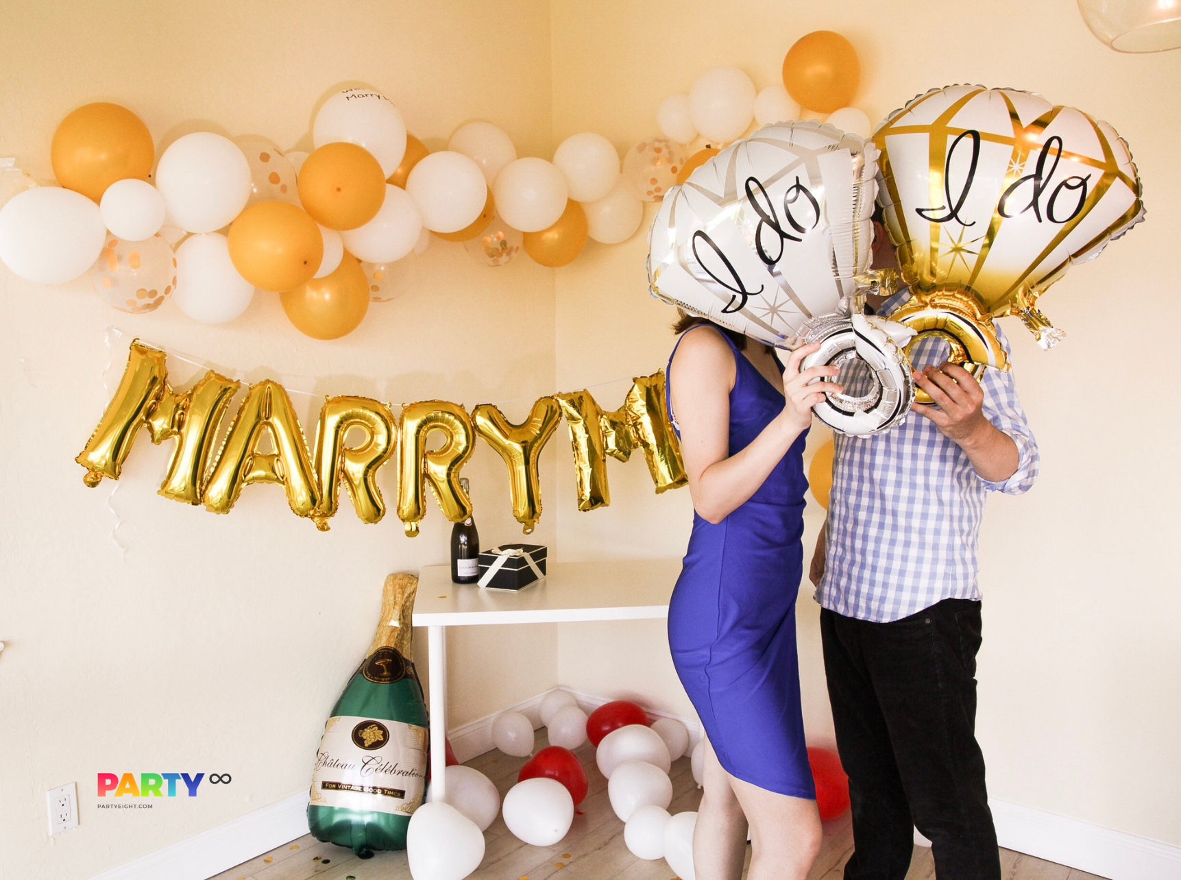 Balloons Banners Engaged Engagement Party Supplies Tableware OMG Decorations