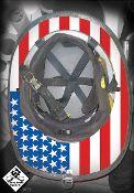 TRUE USA (COLOR) Under Helmet Decal