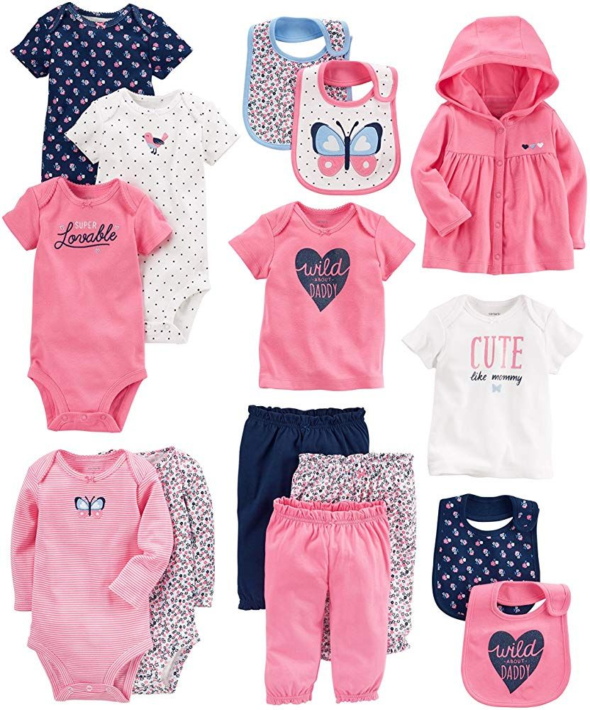 Conjunto para beb/é ni/ña Simple Joys by Carters