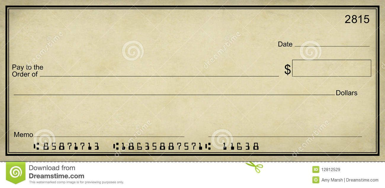 Blank Bank Check Clip Art The Top  Background Check Reviews