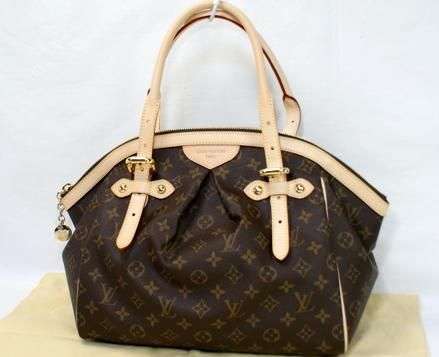 Louis Vuitton hand bag, Tivoli. My most fav purse ever!  I use it all year round!