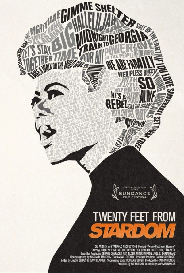 20 Feet From Stardom | 20 feet from stardom, Documentary poster