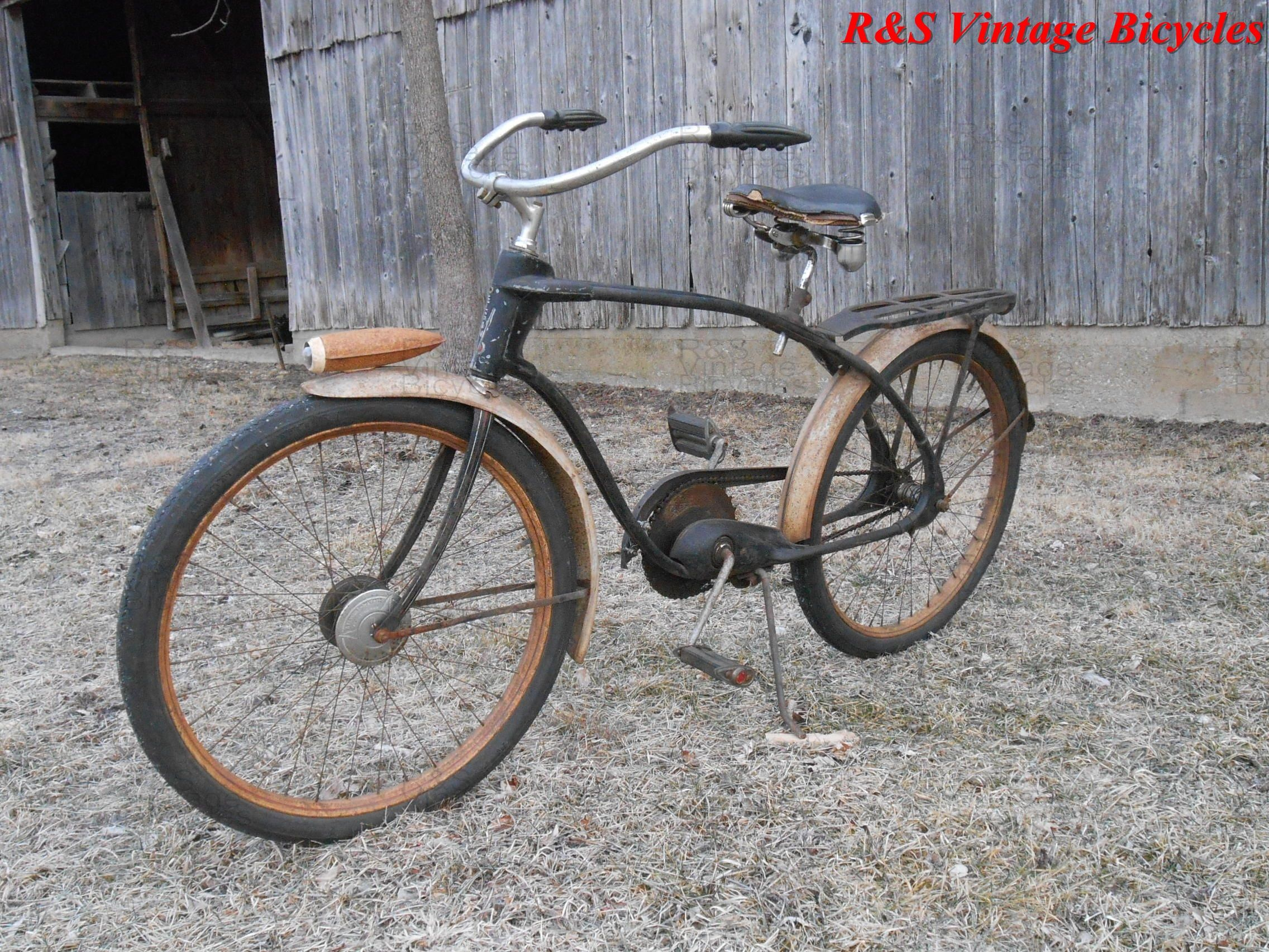 1939 Elgin Twin Bar @ R&S Vintage Bicycles Salem Illinois #Antiquebicycle