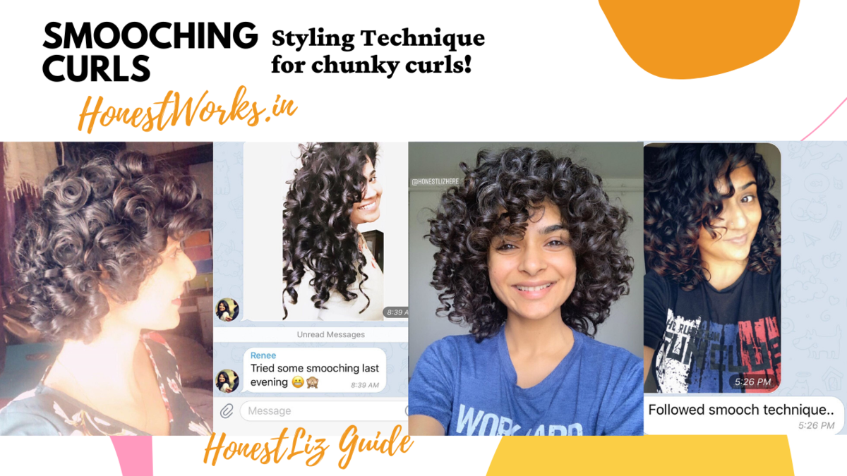 Smooching Curls Curly Hair Styling Technique Honestworks In In 2020 Curly Hair Care Curly Hair Styles Curls