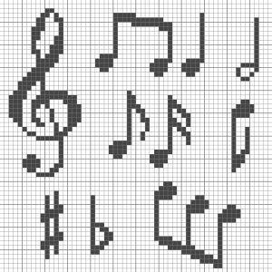 Photo of musical notes