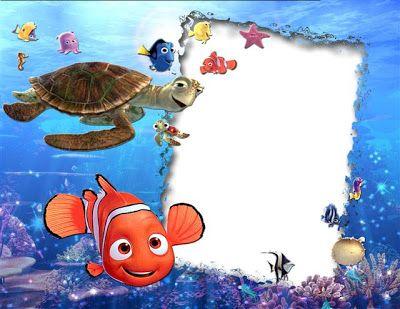 Marco Digital Para Fotos Infantiles Inspirado En Nemo
