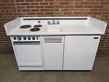 Superieur Dwyer Vintage Kitchen Kitchenette Stove Sink Refrigerator Cabinet Porcelain