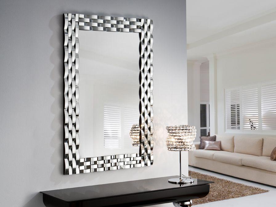 espejo omega espejos de cristal modernos